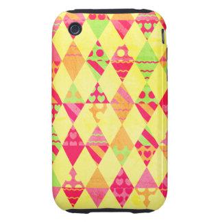 Gelati Party Triangles iPhone 3 Tough Cases