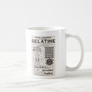 Gelatine, Cod Fish, and more Classic White Coffee Mug