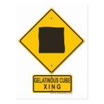 Gelatinous Cube XING Postcard