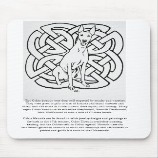 Gelert Hound, Celtic Hounds Quote MousePad