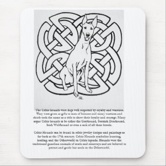 Gelert Hound Celtic Hounds Quote MousePad