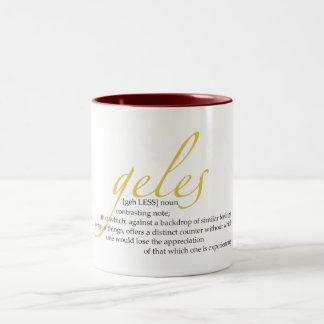 Geles Tazas De Café