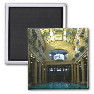 Gellert Bath 2 Inch Square Magnet