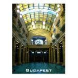 Gellert Bath Postcard