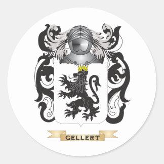 Gellert Coat of Arms (Family Crest) Classic Round Sticker