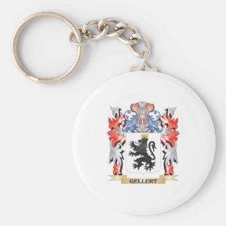 Gellert Coat of Arms - Family Crest Keychain