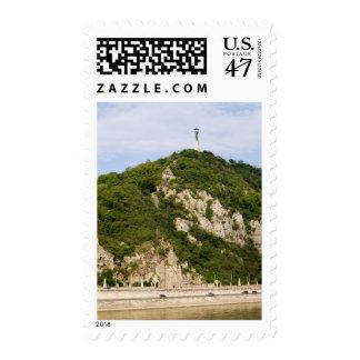 Gellert Hill in Budapest Postage