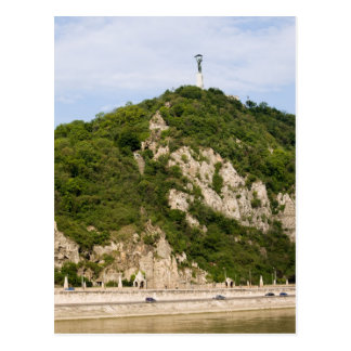 Gellert Hill in Budapest Postcard