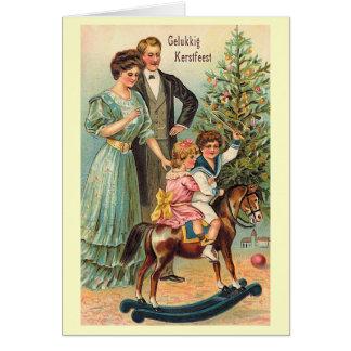 """Gelukkig Kerstfeest"" Card"