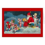 """Gelukkig Kerstfeest"" Vintage Dutch Christmas Card"