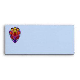 gem colorful diamond envelope