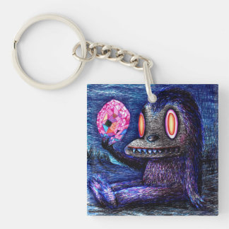 Gem creature (keychain) keychain