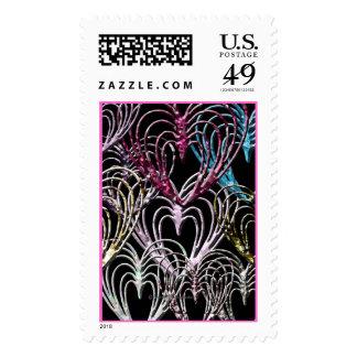 Gem Cut Hearts Stamps