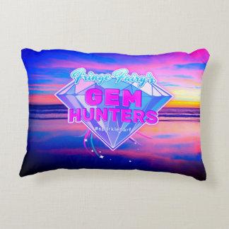 Gem Hunters Logo Decorative Pillow