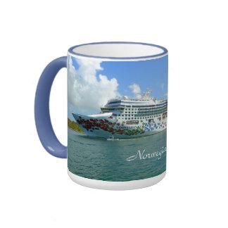 Gem on the Space Coast Custom Ringer Mug