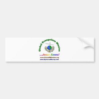 gem products car bumper sticker