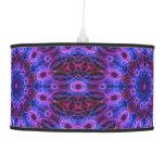 Gem rings -mandala pattern- hanging lamp