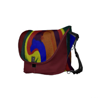 Gem Sands Swirl Courier Bag
