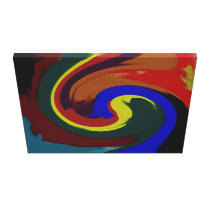Gem Sands Wrapped Canvas