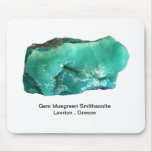 GeM Smithsonite from Lavrion , Greece Mouse Pads