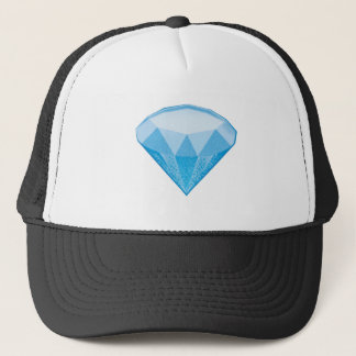 Gem Stone Emoji Trucker Hat