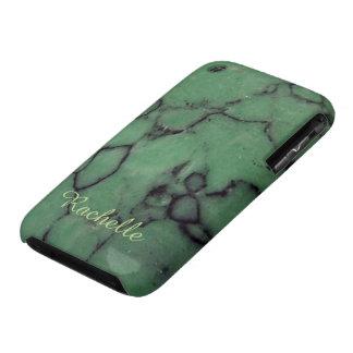 Gem stone monogrammed iPhone 3 case