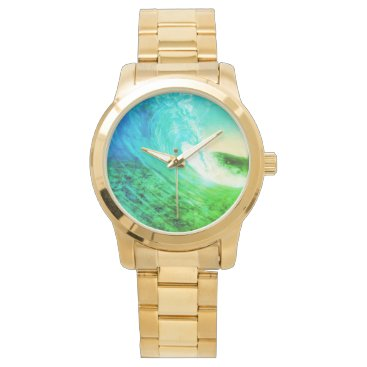 "Beach Themed ""GEM"" WRIST WATCH"