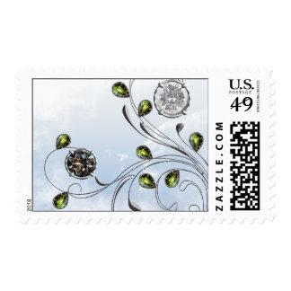 Gema blanco y negro sellos