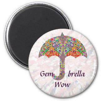 Gema - brella imán redondo 5 cm