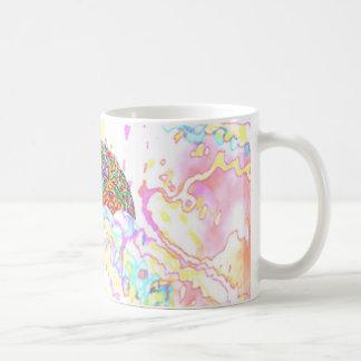 Gema - brella taza básica blanca