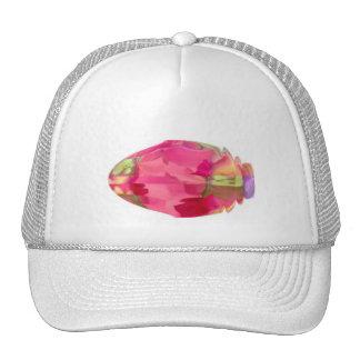 Gema cristalina: RedRose PinkRose basó arte Gorras De Camionero