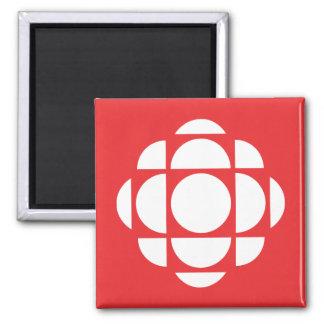 Gema de CBC/Radio-Canada Imán Cuadrado