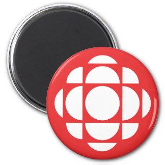 Gema de CBC/Radio-Canada Imán Redondo 5 Cm