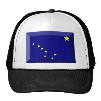 Gema de la bandera de Alaska Gorras De Camionero
