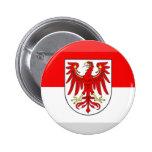 Gema de la bandera de Brandeburgo Pins