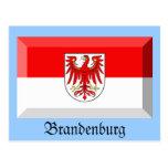 Gema de la bandera de Brandeburgo Postal