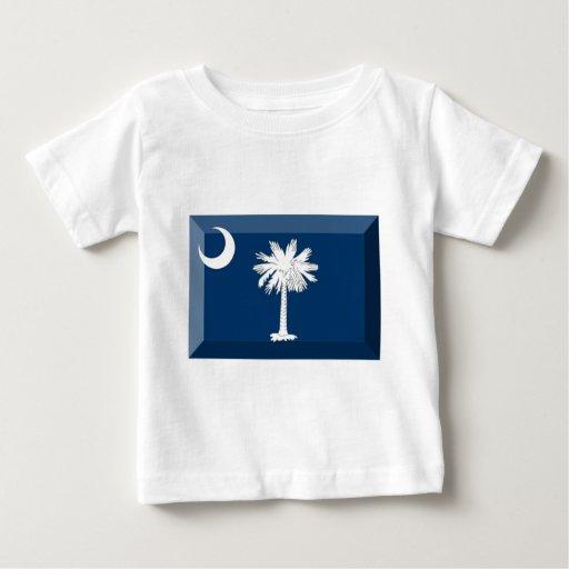 Gema de la bandera de Carolina del Sur T Shirts