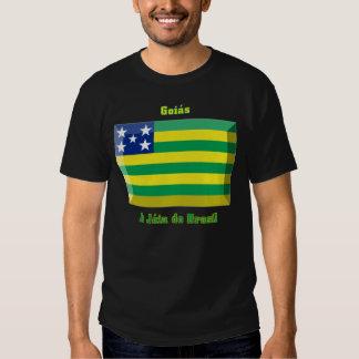 Gema de la bandera de Goiás Polera