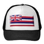 Gema de la bandera de Hawaii Gorras De Camionero