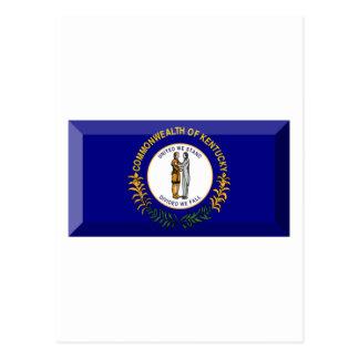 Gema de la bandera de Kentucky Tarjeta Postal