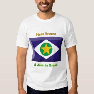 Gema de la bandera de Mato Grosso Camisas