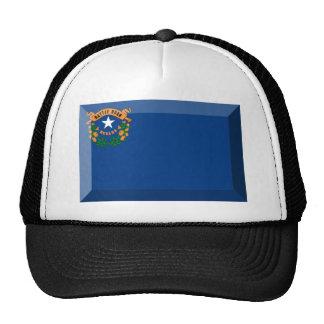 Gema de la bandera de Nevada Gorro De Camionero