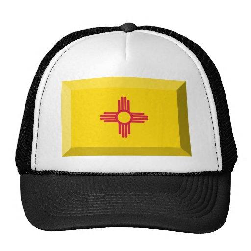 Gema de la bandera de New México Gorro De Camionero