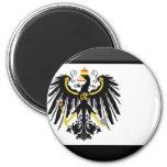 Gema de la bandera de Preussen Iman Para Frigorífico
