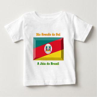 Gema de la bandera de Río Grande del Sur Camisas
