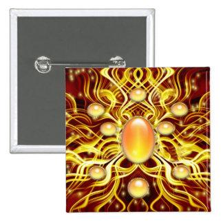 Gema del alma # 2 pin cuadrada 5 cm
