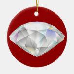 Gema del corte del diamante ornamentos de reyes