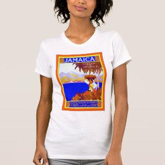 Gema del ~ de Jamaica del viaje del vintage del ~ T Shirt