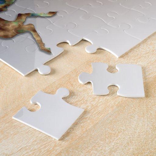 Gema del desierto de los caballos salvajes #10 puzzles con fotos