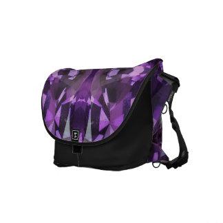 Gema púrpura, violeta bolsa de mensajeria